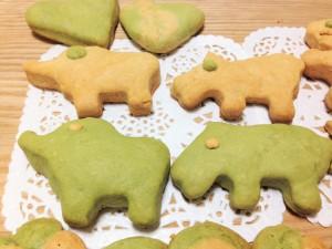 青汁&きな粉クッキー