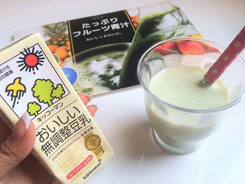 無 調整 豆乳 美味しい 飲み 方
